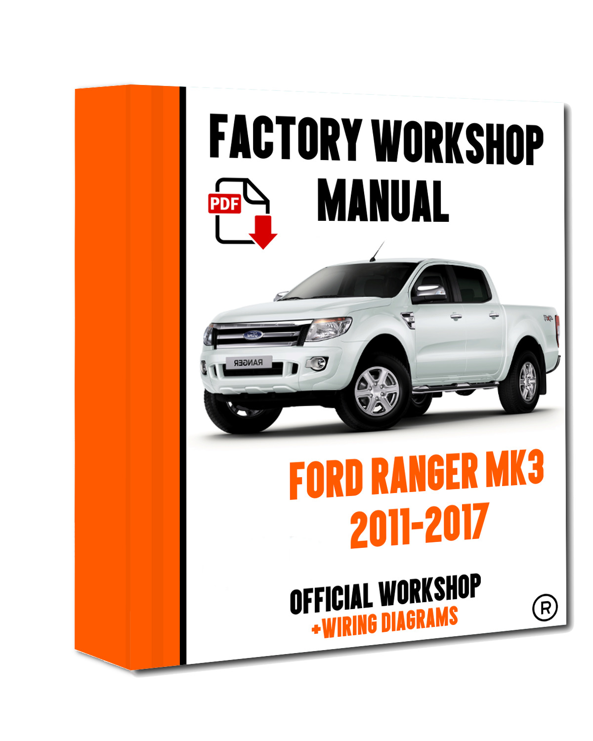 OFFICIAL WORKSHOP Manual Service Repair Ford Ranger 2011 - 2015 1 of 6FREE  Shipping ...