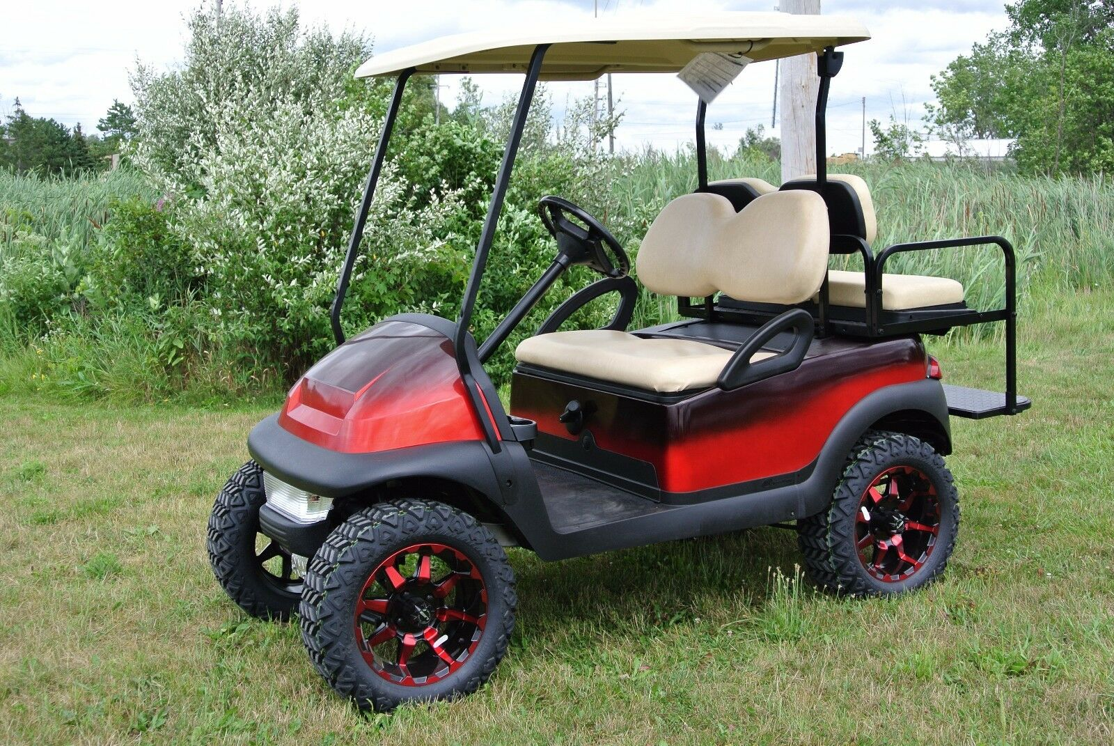 Custom Paint Harley Davidson Golf Cart Html on