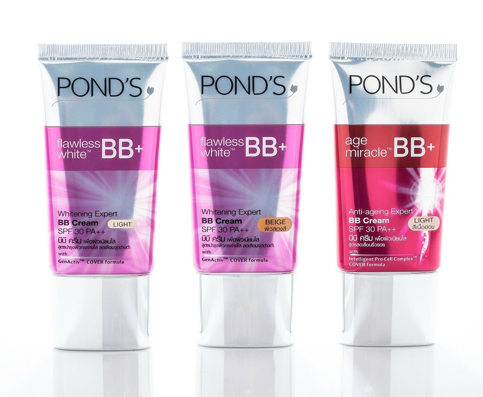 25g Ponds Age Miracle Bb Cream And Flawless White Spf 30 Pa Face Daily Moist 50g 1 Of 4 See More