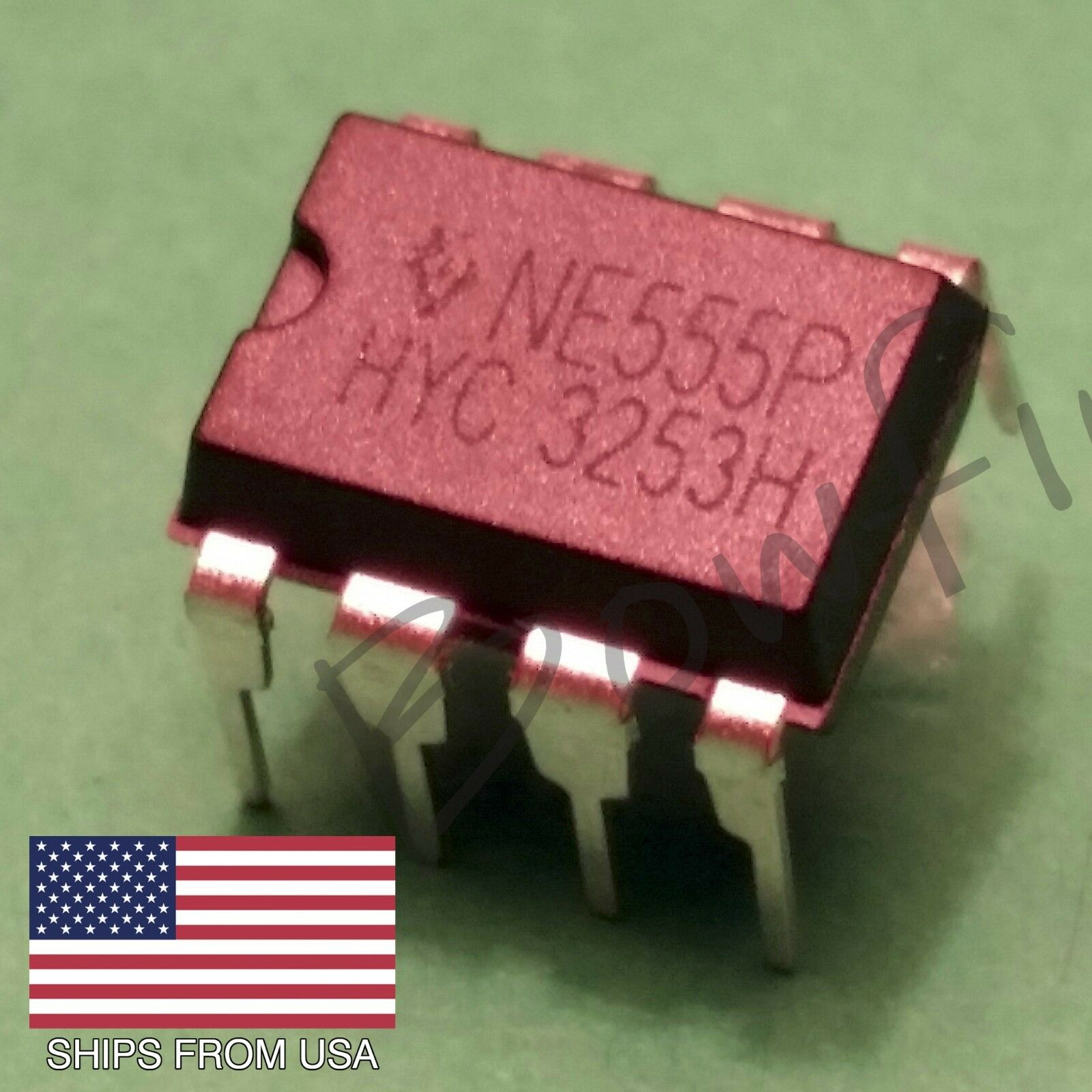 10 Pack Ne555p Timer Dip 8 Ne555 Usa Seller Free Shipping 1000pcs Lm358 Sop8 Integrated Circuit Operational Amplifier Ic 1 Of 1only 0 Available