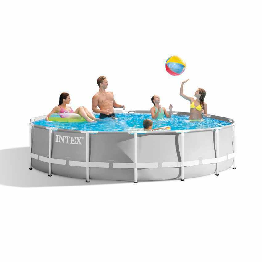 INTEX FRAME Pool Set Prism Rondo Ø 366 x 76 cm 28712GN - EUR 122,55 ...