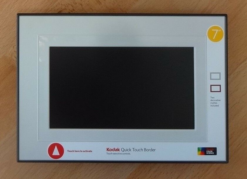 7\'ZOLL DIGITALE BILDERRAHMEN Kodak Easy Share P720 Frame Touchscreen ...