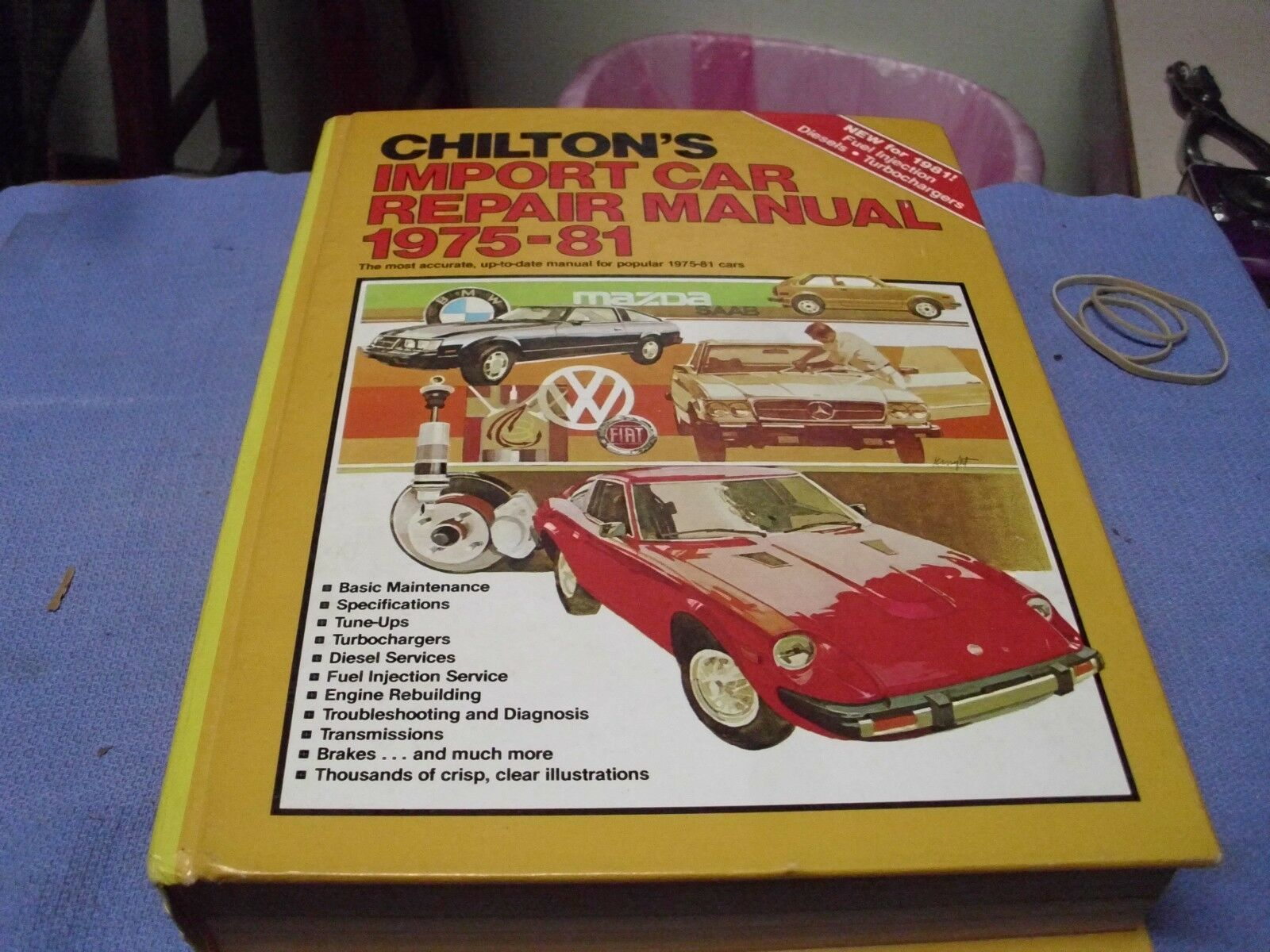 vintage chilton s import car repair manual 1975 81 6th ed rh picclick com Alex Chilton Eve Chilton