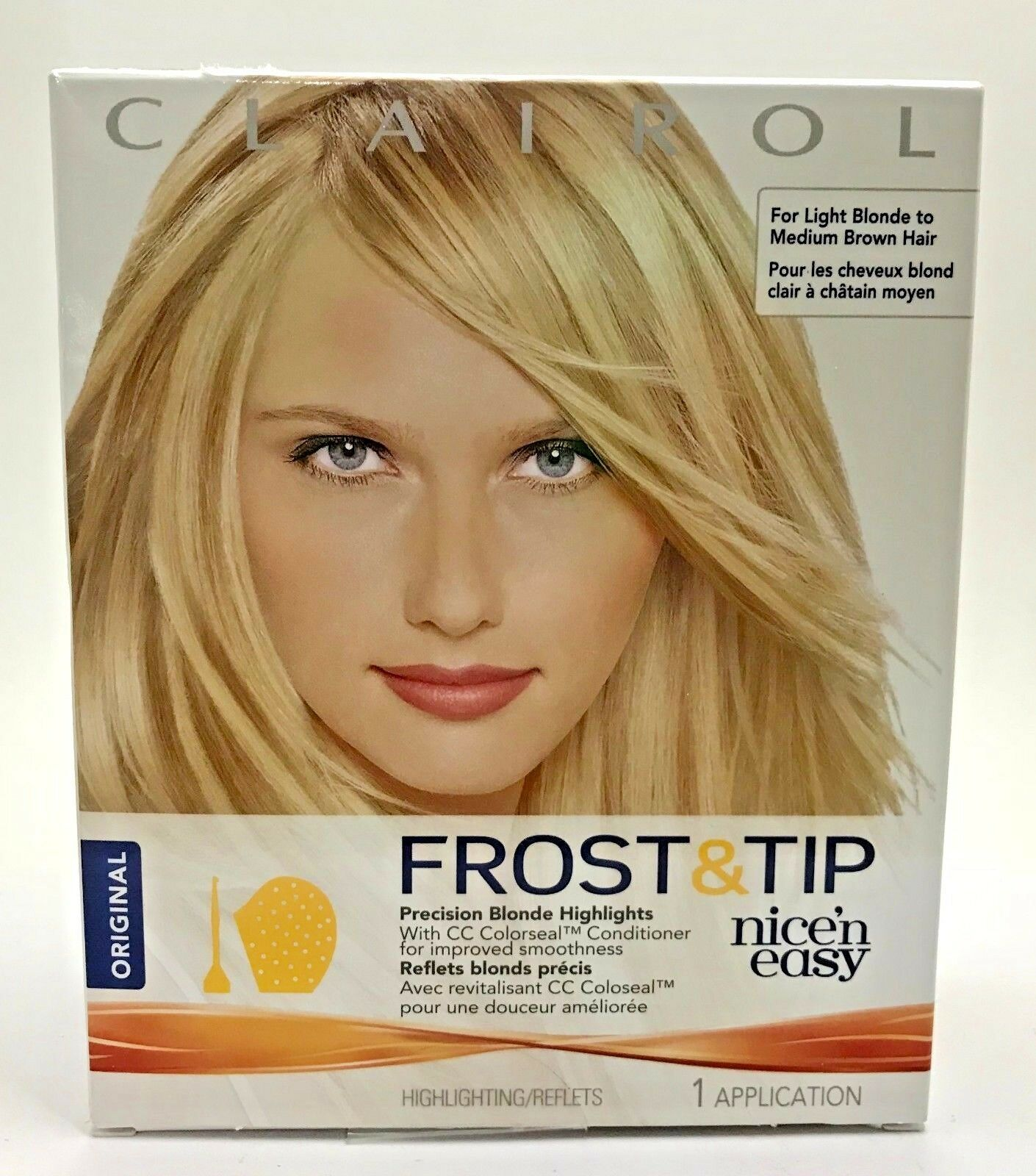 Clairol Nice N Easy Frost Tip Precision Blonde Highlights As