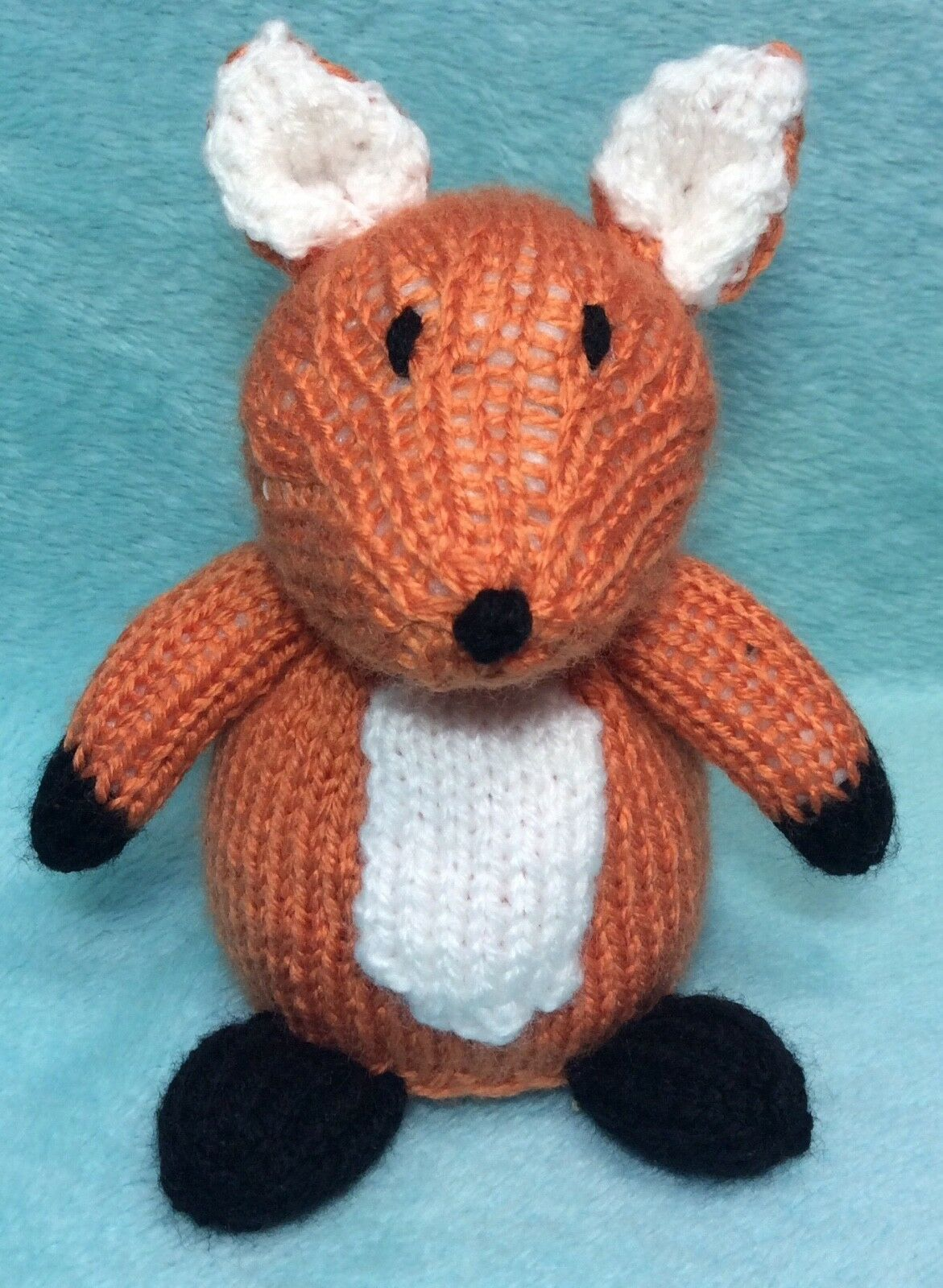 KNITTING PATTERN - Fox Chocolate orange cover / 15 cms Woodland ...