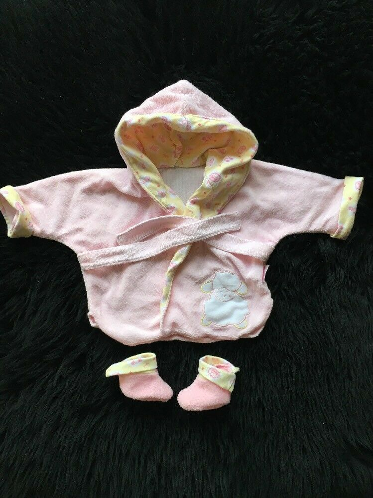 BABY ANNABELL DOLLS Clothes, Dressing Gown & Slippers,outfit .,,18 ...