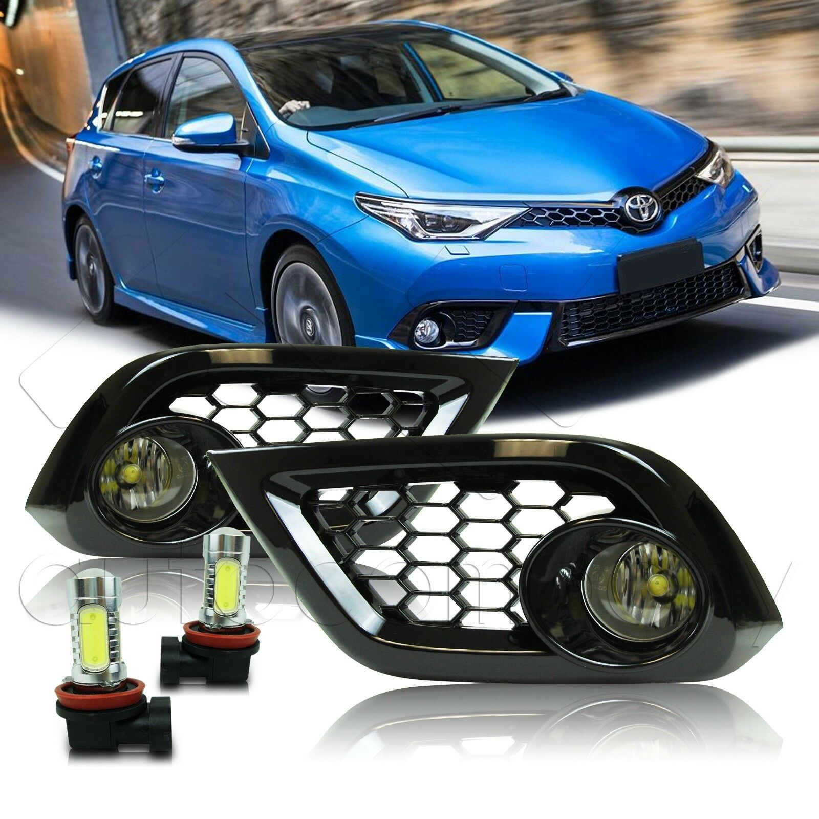 For 16 17 18 Scion Toyota Im Fog Lights W Wiring Kit Cob Led Bulbs Winjetr N Harness 1 Of 6free Shipping See More