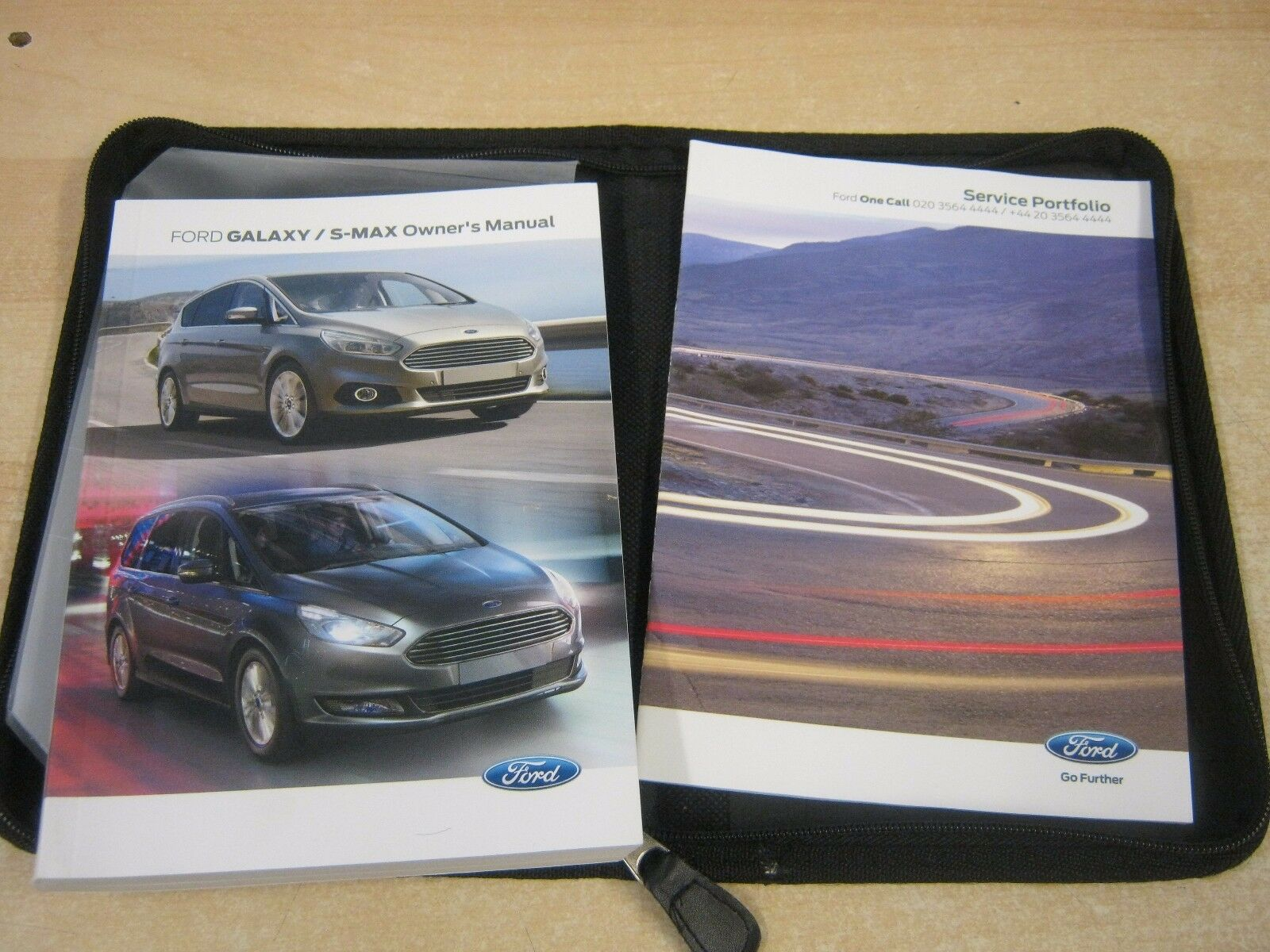 FORD GALAXY & S MAX OWNERS MANUAL - HANDBOOK 2015-2017 inc SERVICE BOOK 1  of 1 See More