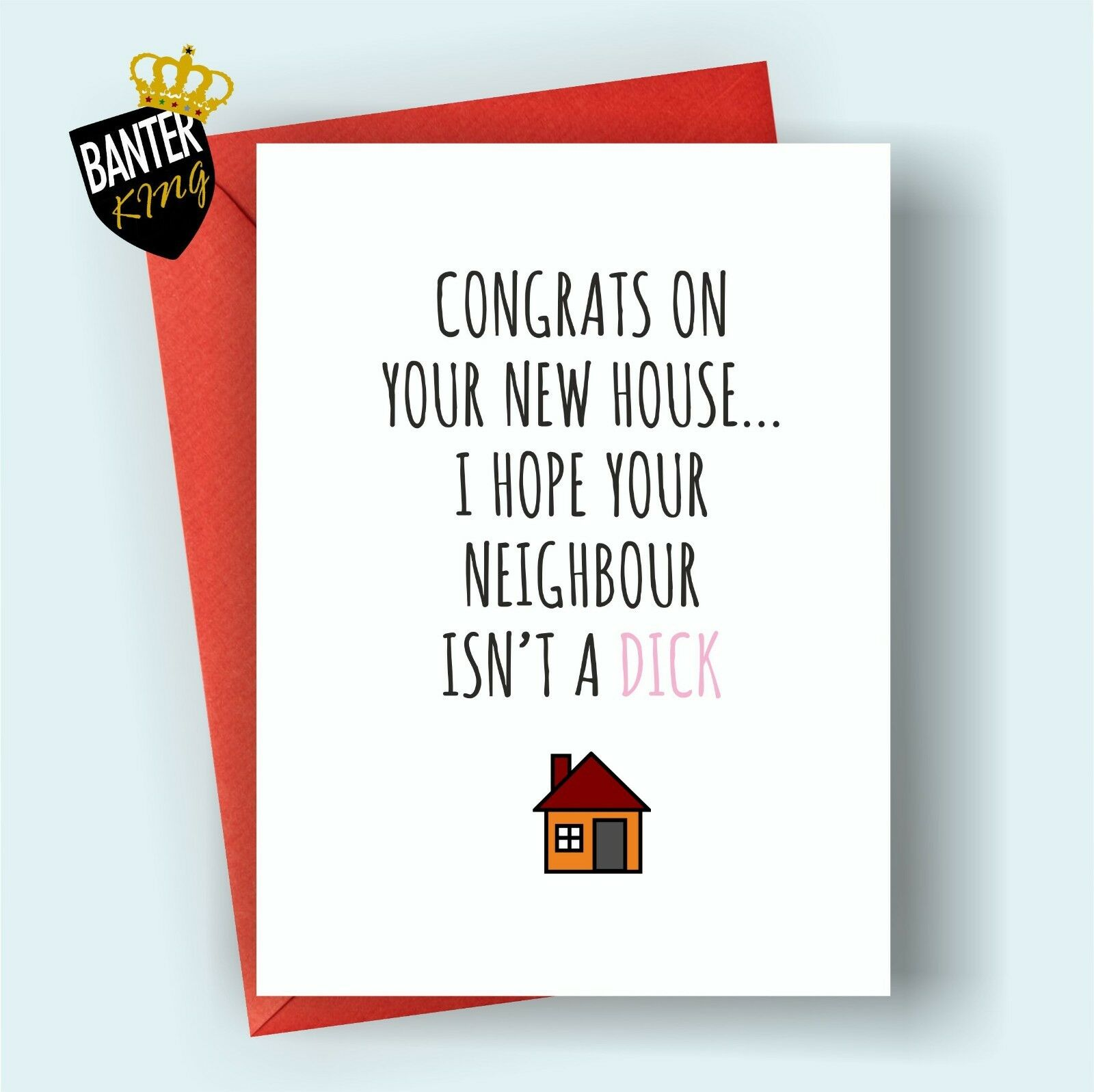 C11 new house home moving well done congratulations greeting card 1 of 3free shipping m4hsunfo