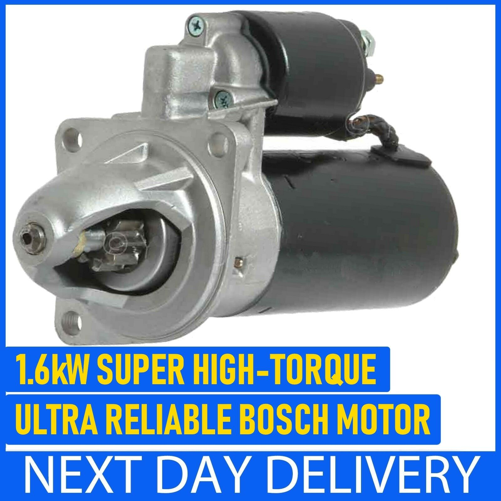 Brisca F2 Stock Car Ford Pinto High Torque Starter Motor 16kw 1 Of 3free Shipping
