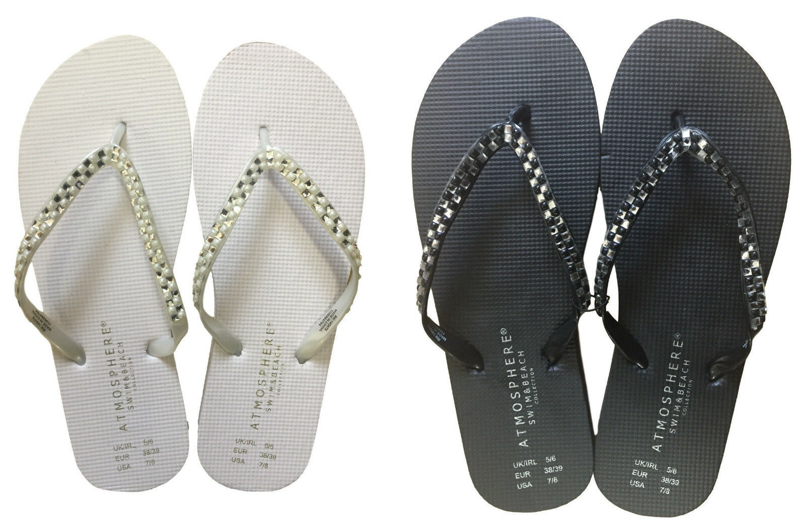 46a1350a5 Wholesale Job Lot Of 30 X Ladies Flip Flops Summer Sandals Swim Beach 1 of  3Only 0 available ...