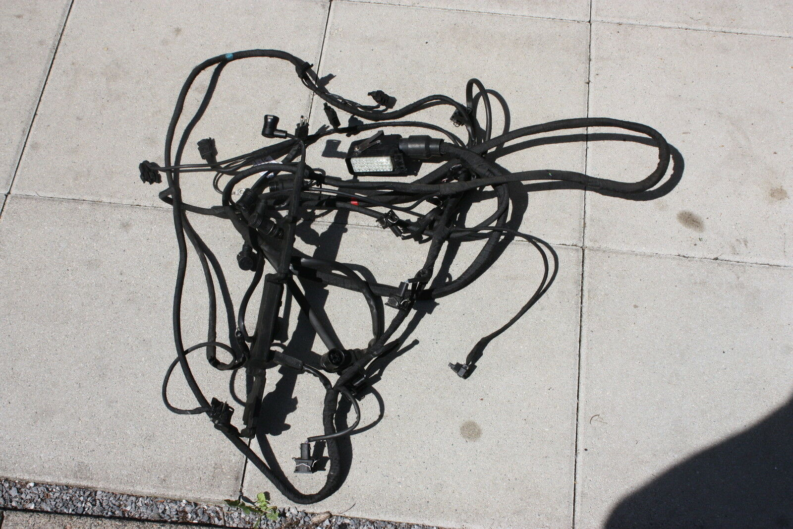 Mercedes Benz W124 E280 E320 Engine Wiring Harness M104 1244405232 1 Of See More