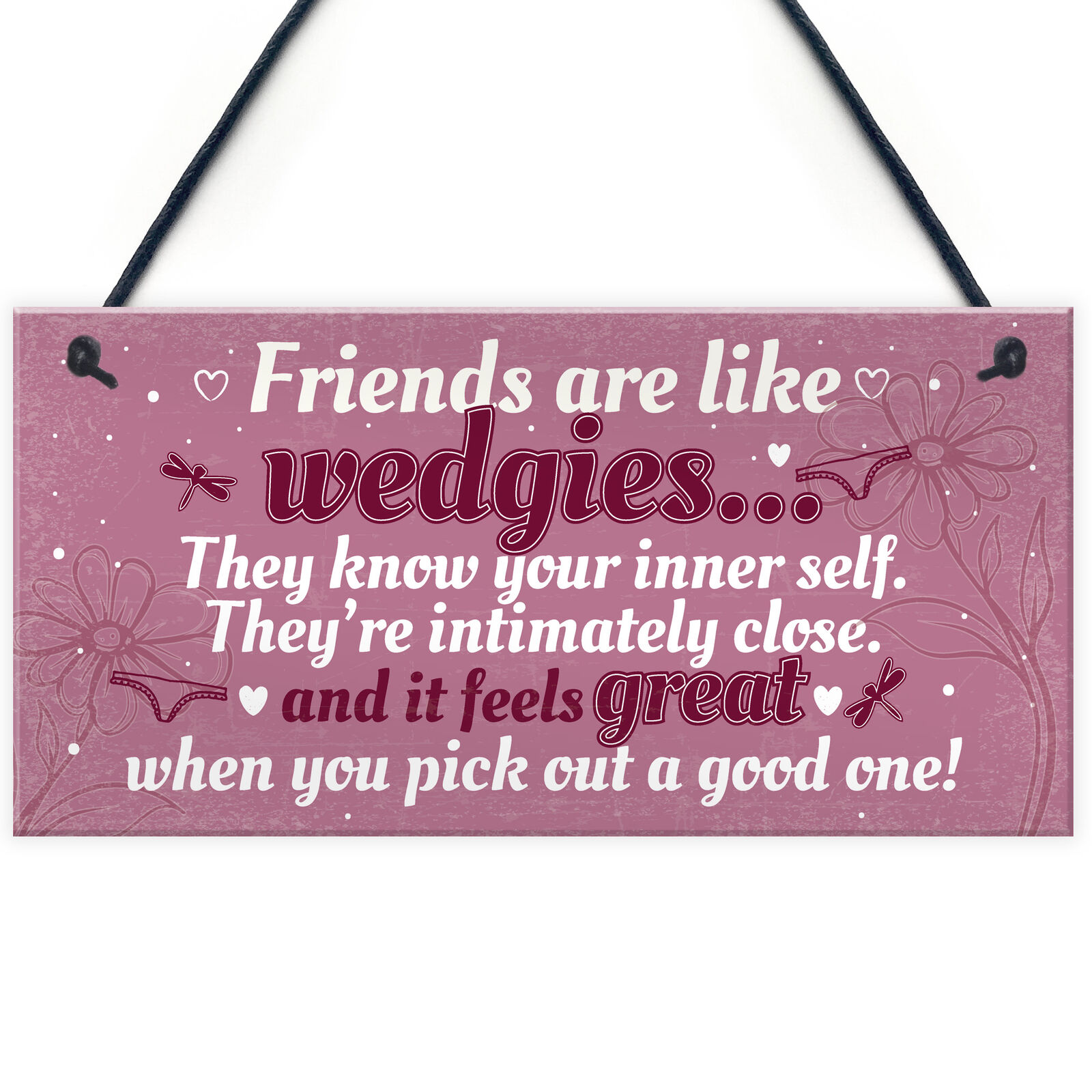NOVELTY FUNNY BEST Friend Birthday Christmas Gift Plaque Gifts For ...