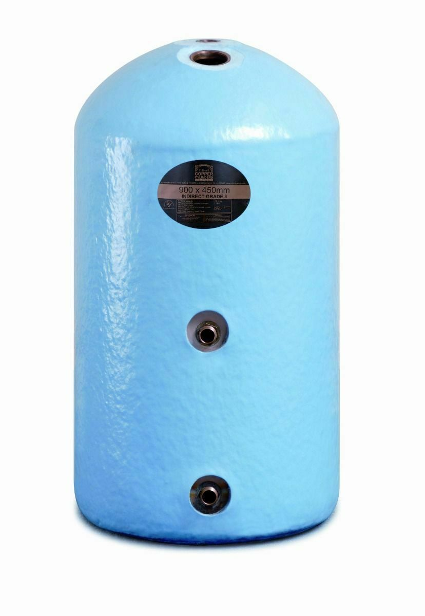 HOT WATER TANK COPPER CYLINDER INDIRECT 36\