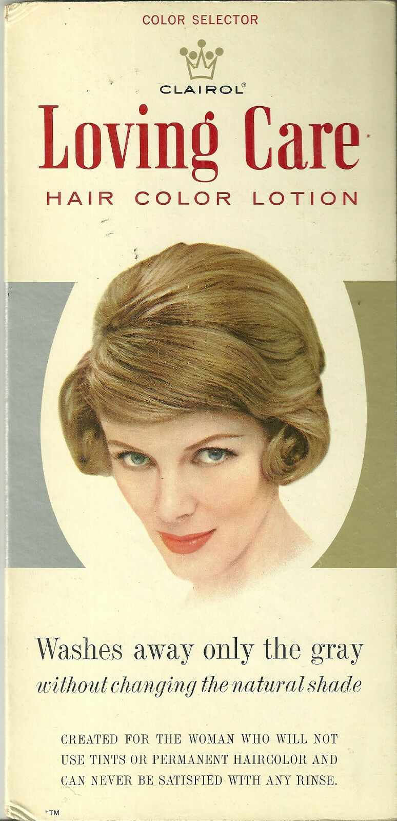 Clairol Loving Care Hair Color Lotion Advertising Vintage Hairstyles 1960 2000