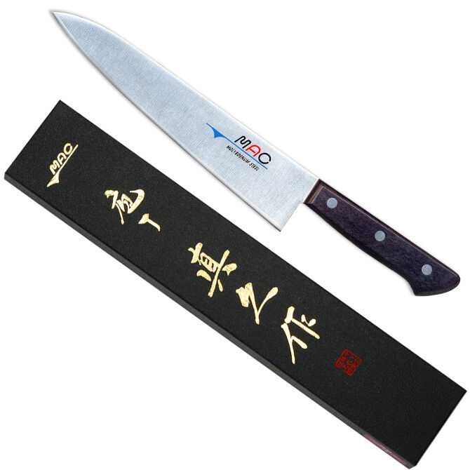 japanese mac hb 85 chef series 8 1 2 blade chef knife new in box made in japan cad. Black Bedroom Furniture Sets. Home Design Ideas