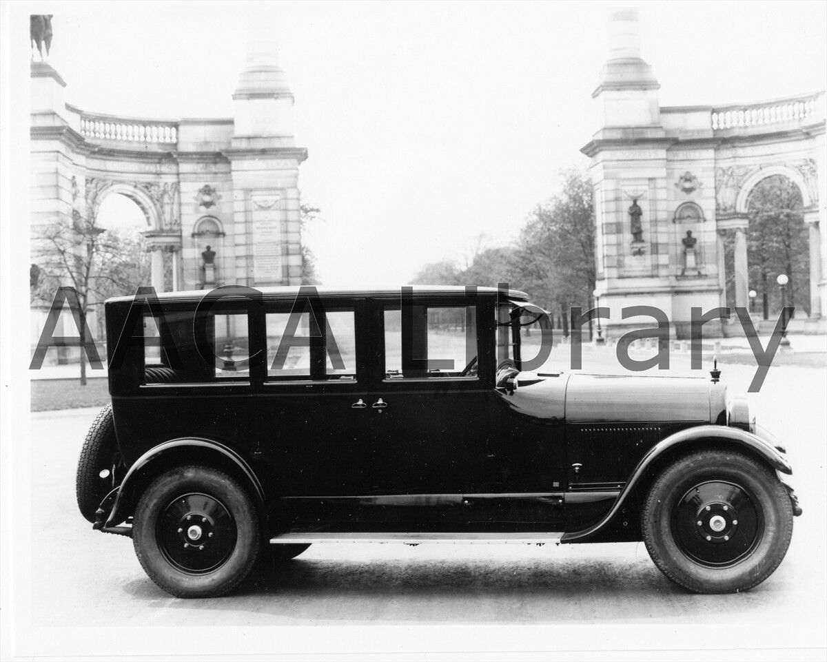 1923 Peerless Budd Limousine, Factory Photo / Picture (Ref. #63581)