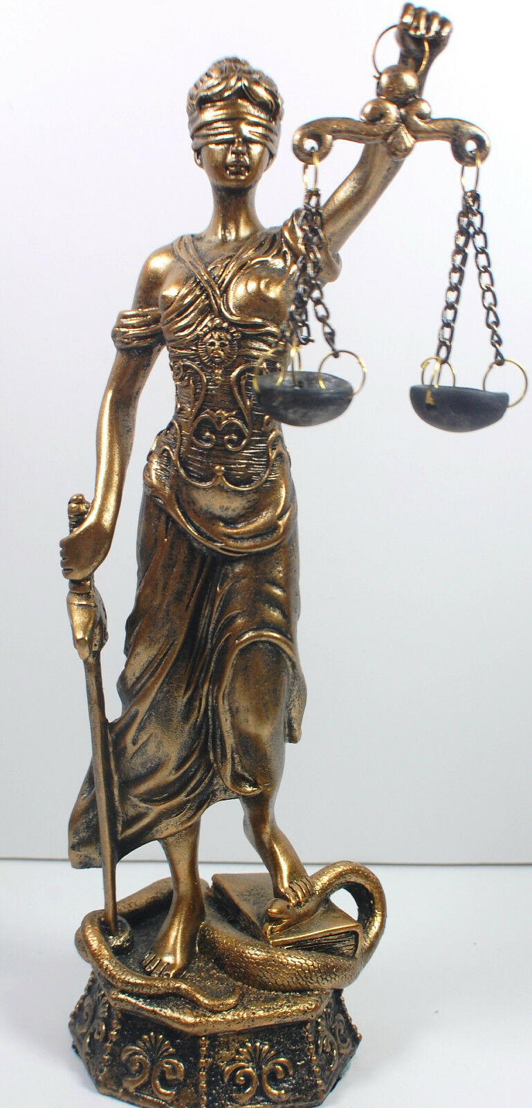 """NEW! 18"""" Lady Scales of Justice Lawyer Statue Law Office ..."""