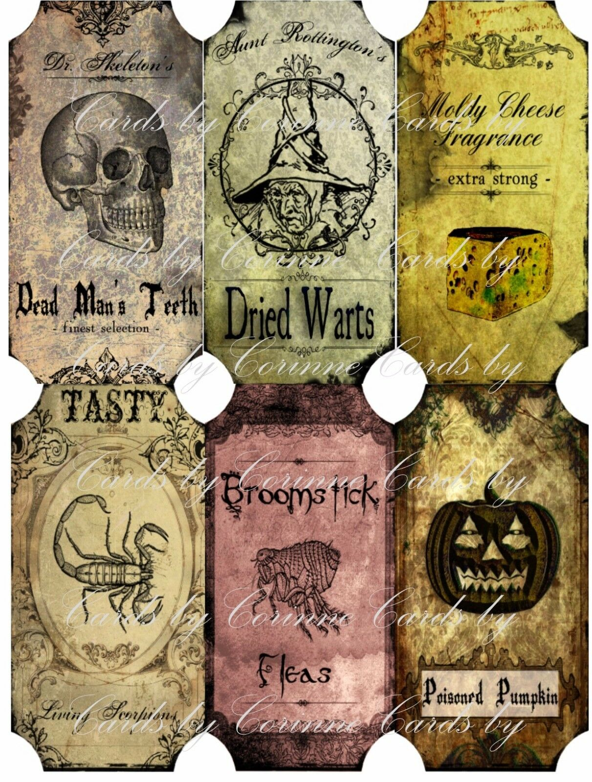 ireland decorations halloween halloween stickers bottle 6 inspired label large apothecary vintage