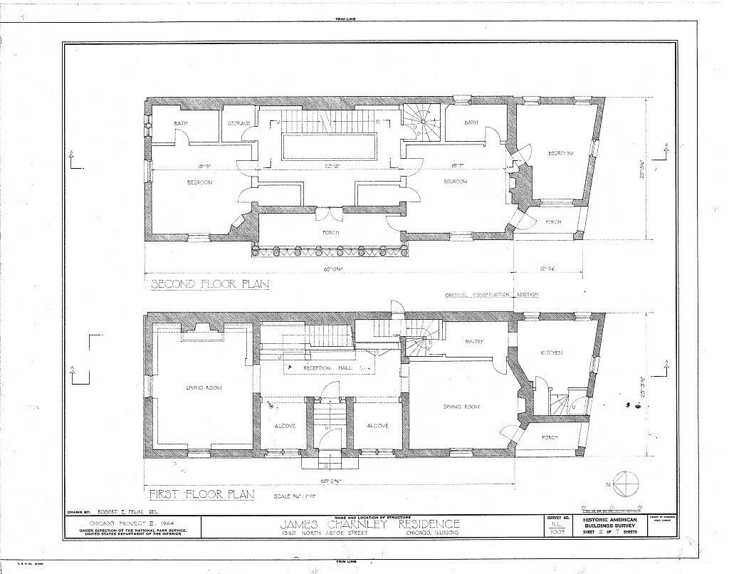 Frank lloyd wright prairie style home architectural for Frank lloyd wright type house plans