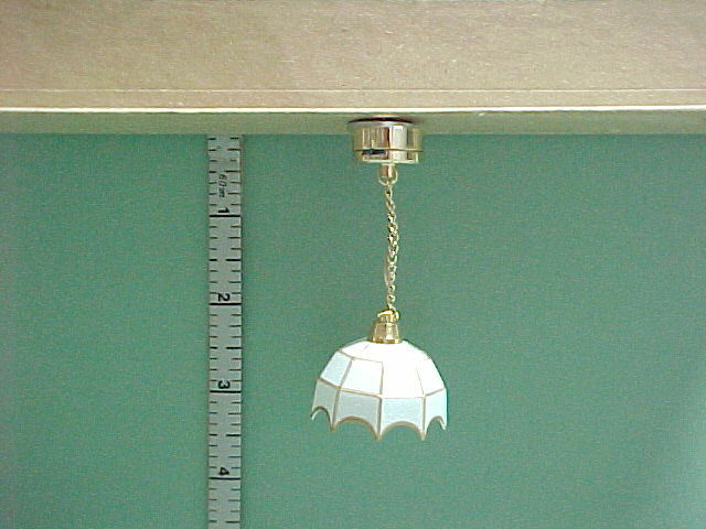 Battery Operated Hanging Light Lamp Cl3s Dollhouse Miniature