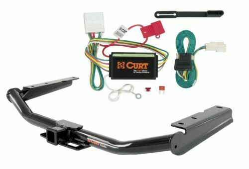 Curt Class 3 Trailer Hitch & Custom Wiring Connector for Toyota Highlander  1 of 5Only 5 available See More