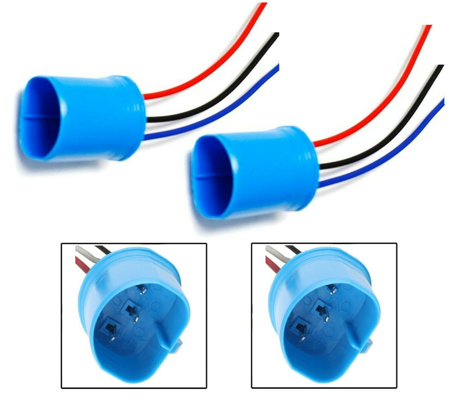 Wire Pigtail Male 9007 Hb5 Two Harness Plastic Headlight Replacement How To A Plug Socket 1 Of 4free Shipping See More