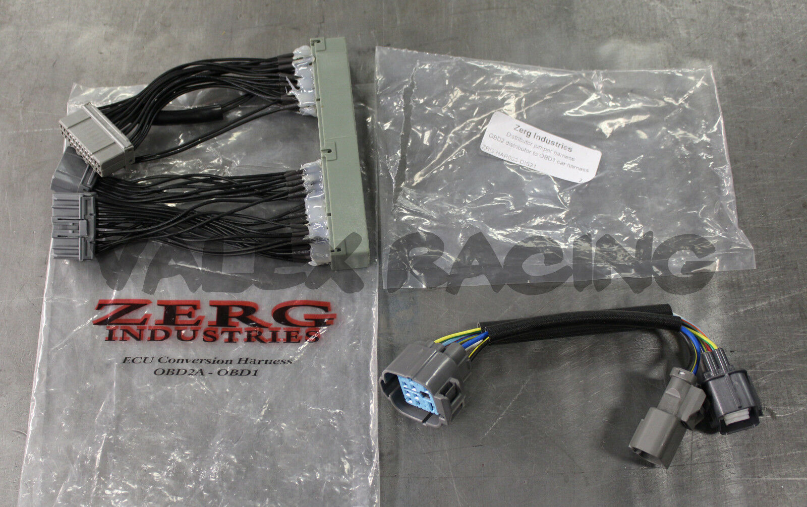 Zerg Obd2a To Obd1 Jumper Harness 96 99 Integra 98 Civic 97 Obd2 Wiring 1996 Jeep Cherokee 1 Of 1free Shipping