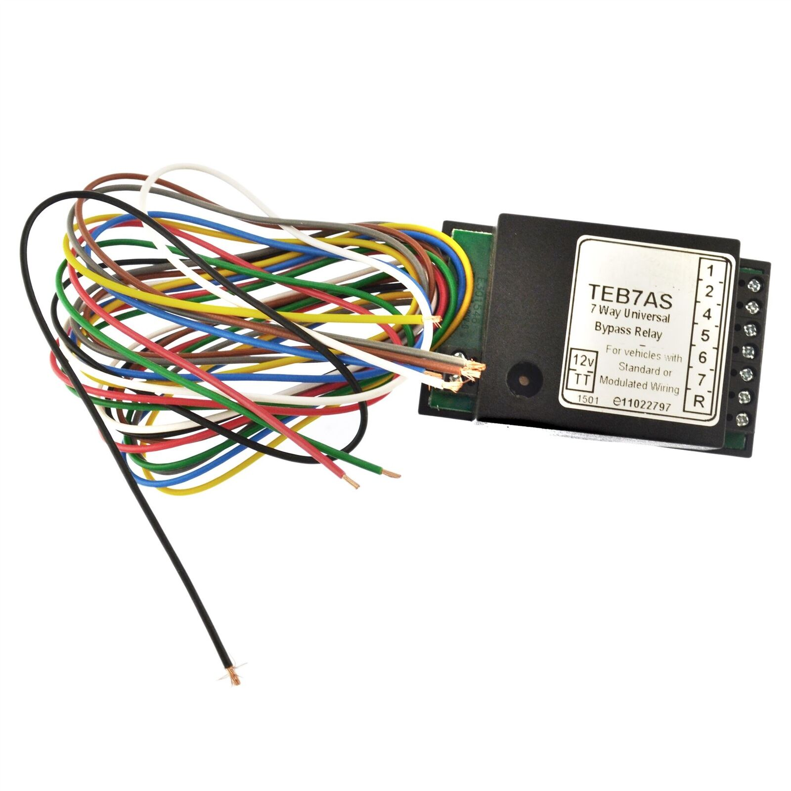 Towbar Electrics 7 Way Bypass Relay for Canbus towbar bypass relay wiring diagram efcaviation com towbar audible relay wiring diagram at panicattacktreatment.co
