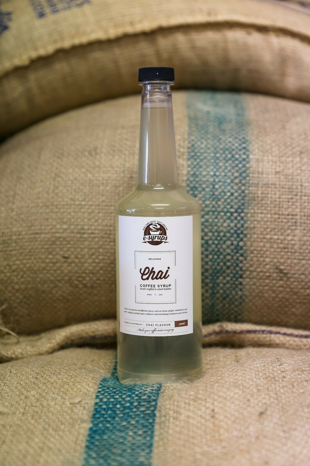 Chai Syrup 2 x Bottles. 750ml