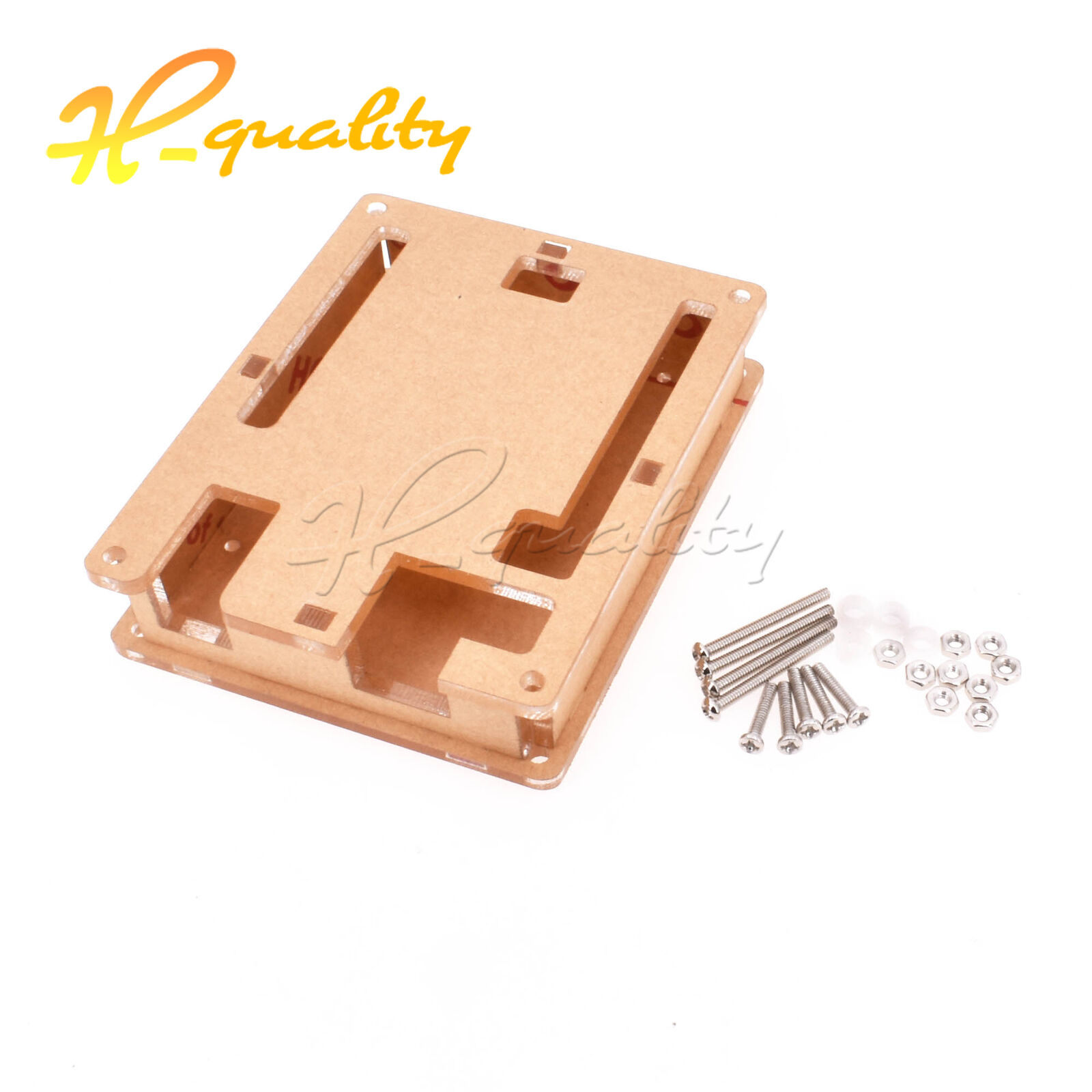 Acrylic Case Casing Arduino Uno Clear Box Enclosure Transparent Shell F R3 Board Module 1 Of 1free Shipping