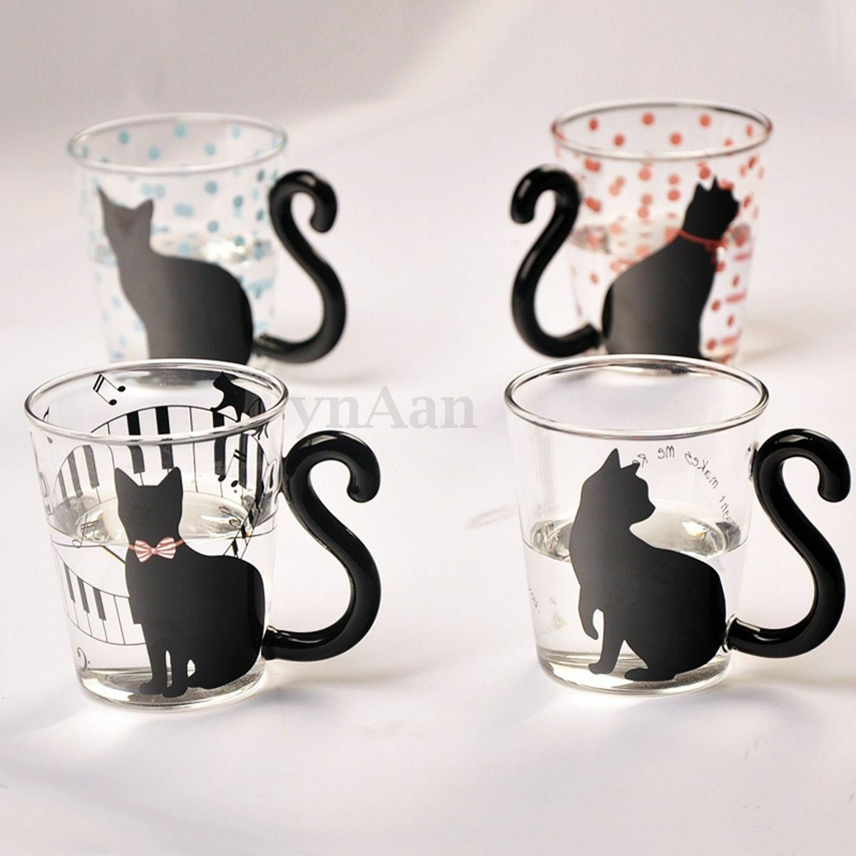 300ml tasse th caf lait en verre mug r sistant chaleur. Black Bedroom Furniture Sets. Home Design Ideas