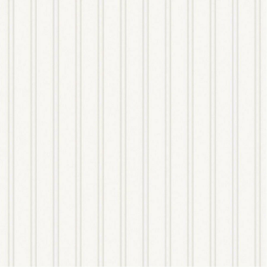 56 Sq. Ft. 1 Double Roll Beadboard White Textured Paintable Wallpaper New 1  Of 1Only 4 Available See More