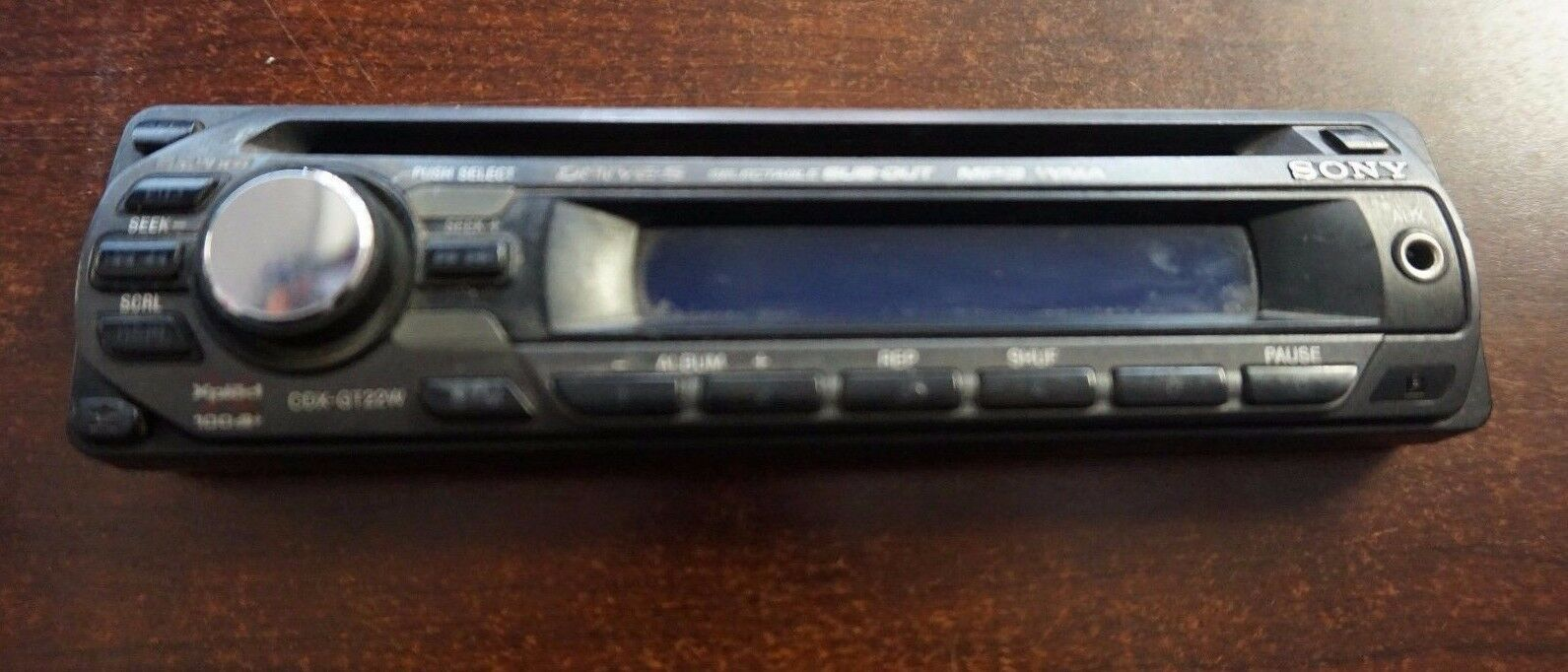 Sony Cdx Gt22w Faceplate 1995 Picclick Car Stereo Wiring Harness Gt620ip 1 Of 1only 3 Available