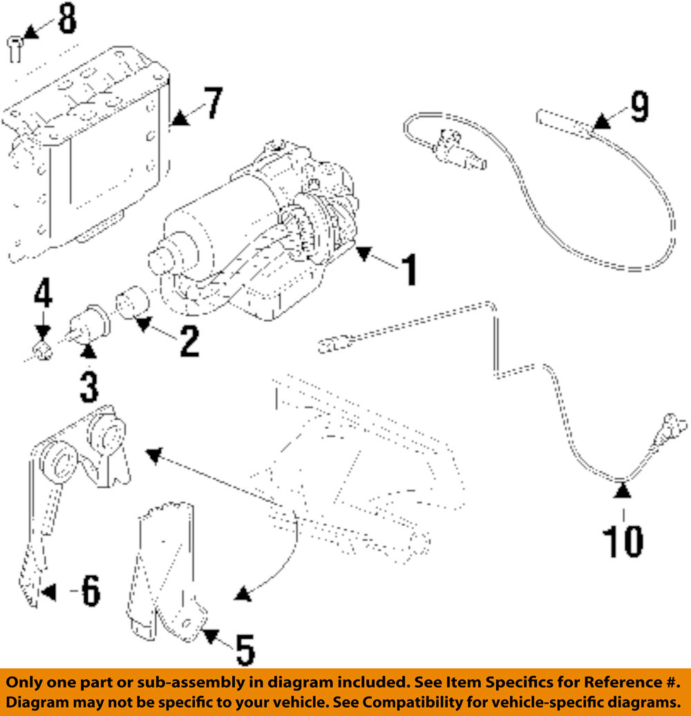 Bmw Oem 96 99 328i Abs Anti Lock Brake System Control Module And Wiring Diagram 1 Of 1only 4 Available