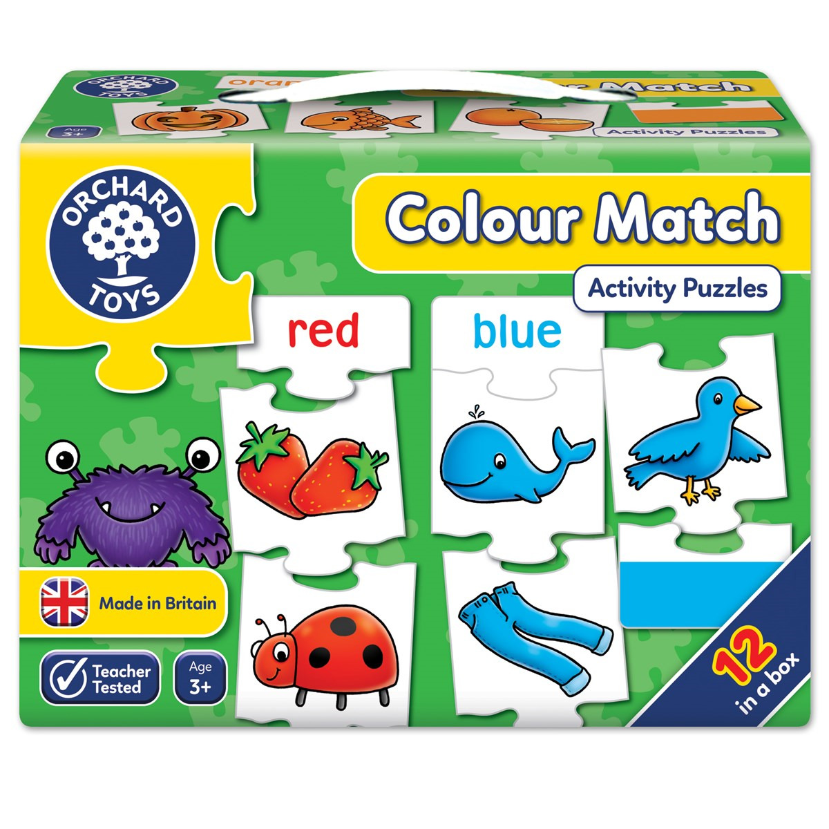 COLOUR MATCH ORCHARD Toys Game Educational Preschool Learning Fun ...