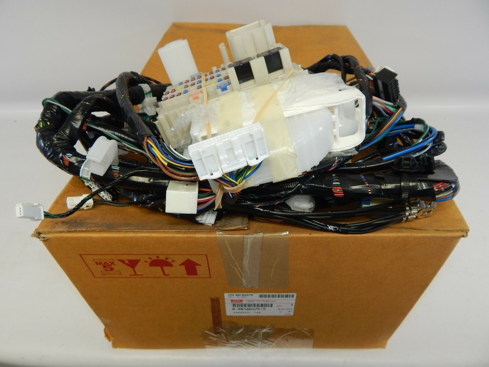 New Oem 2012 2016 Isuzu D Max Cab Interior Body Wiring Harness 8 1 Of 8only Available