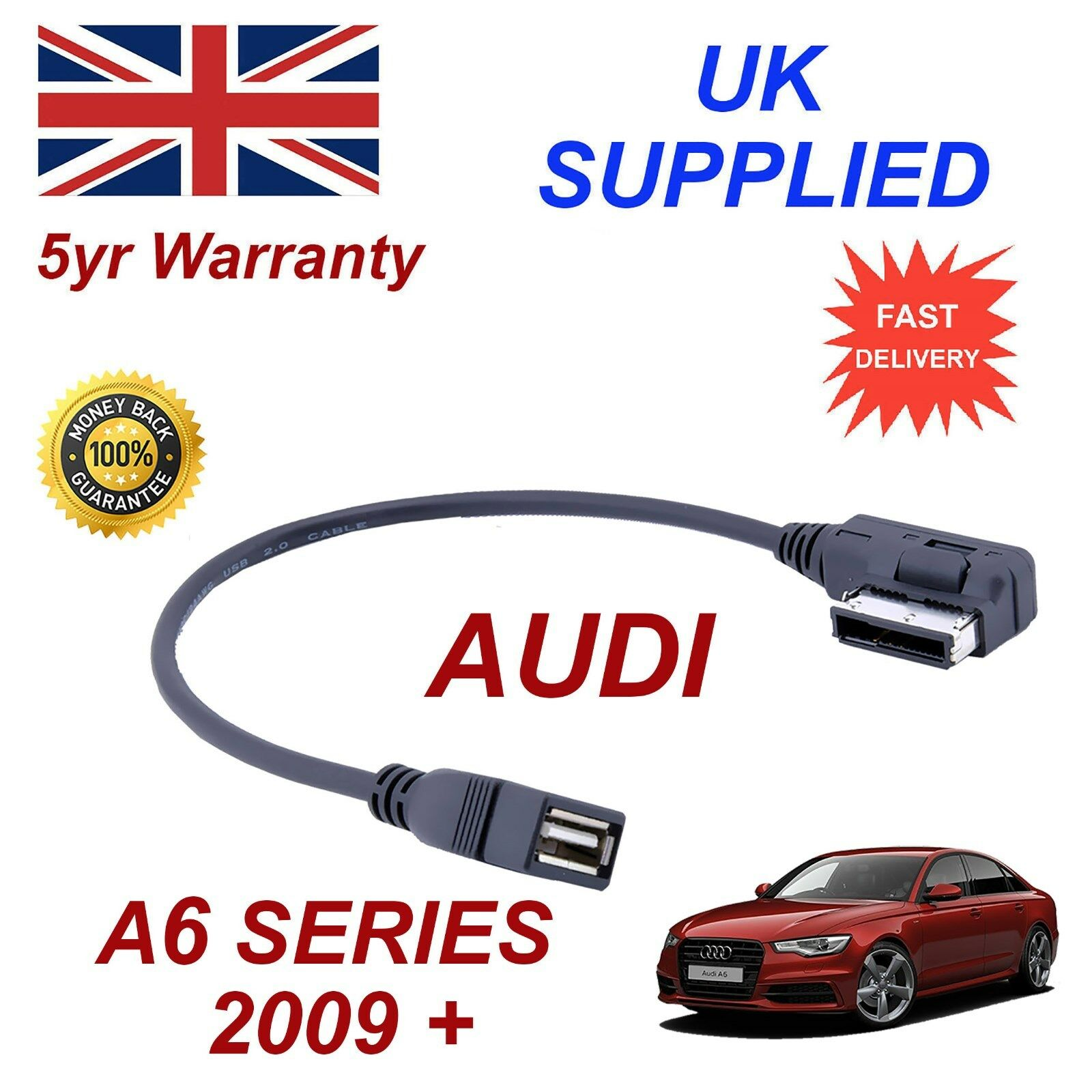 For Audi A6 4f0051510q Memory Stick Amp Mp3 Usb Socket Ami Mmi Audio Cable 163 10 95 Picclick Uk