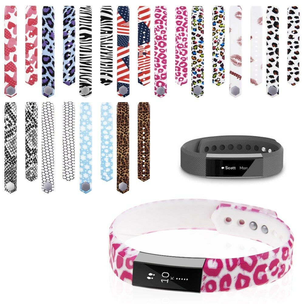 Large Small Size Replacement Wristband Band Strap For Fitbit Alta Plum Colorful 1 Of See More