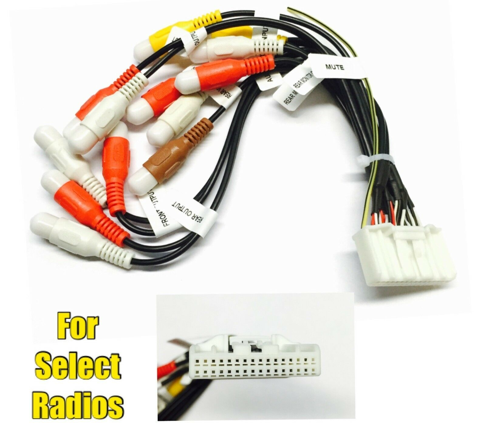 Automotive Wiring Harness Replacement Pins Simple Diagram Car Stereo Radio Wire Plug For Select Pioneer 32 Connectors