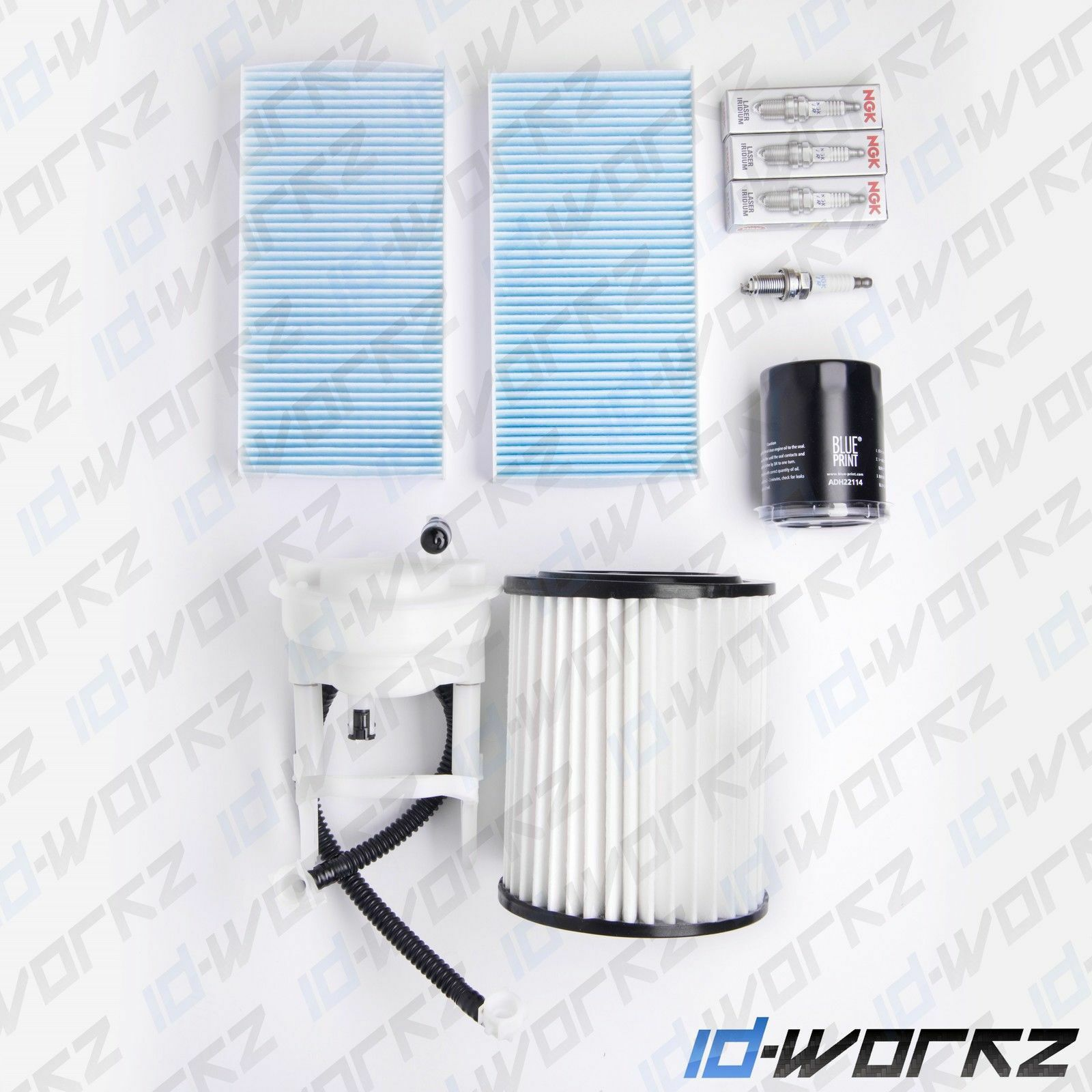 Honda Civic Type R 2.0 Ep3 Air Oil Cabin Fuel Filter Ngk Spark Plugs Service  Kit 1 of 1 See More