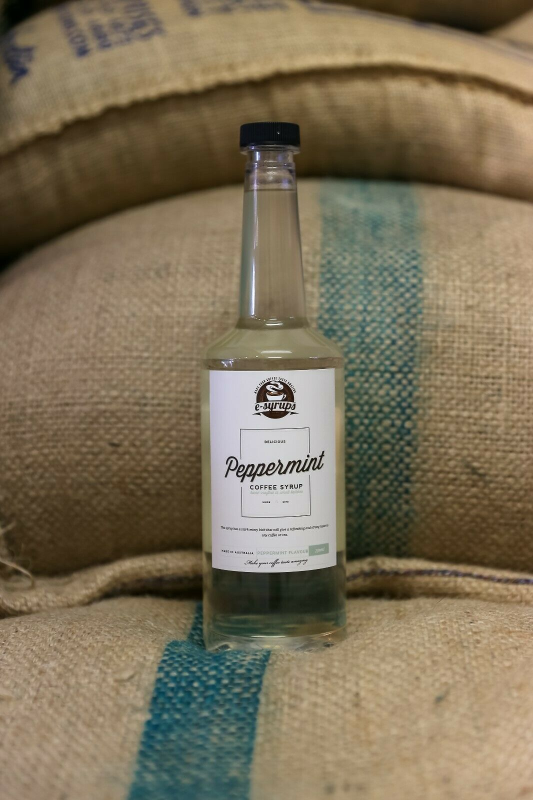 Peppermint Syrup 3 x bottles 750ml. Free delivery