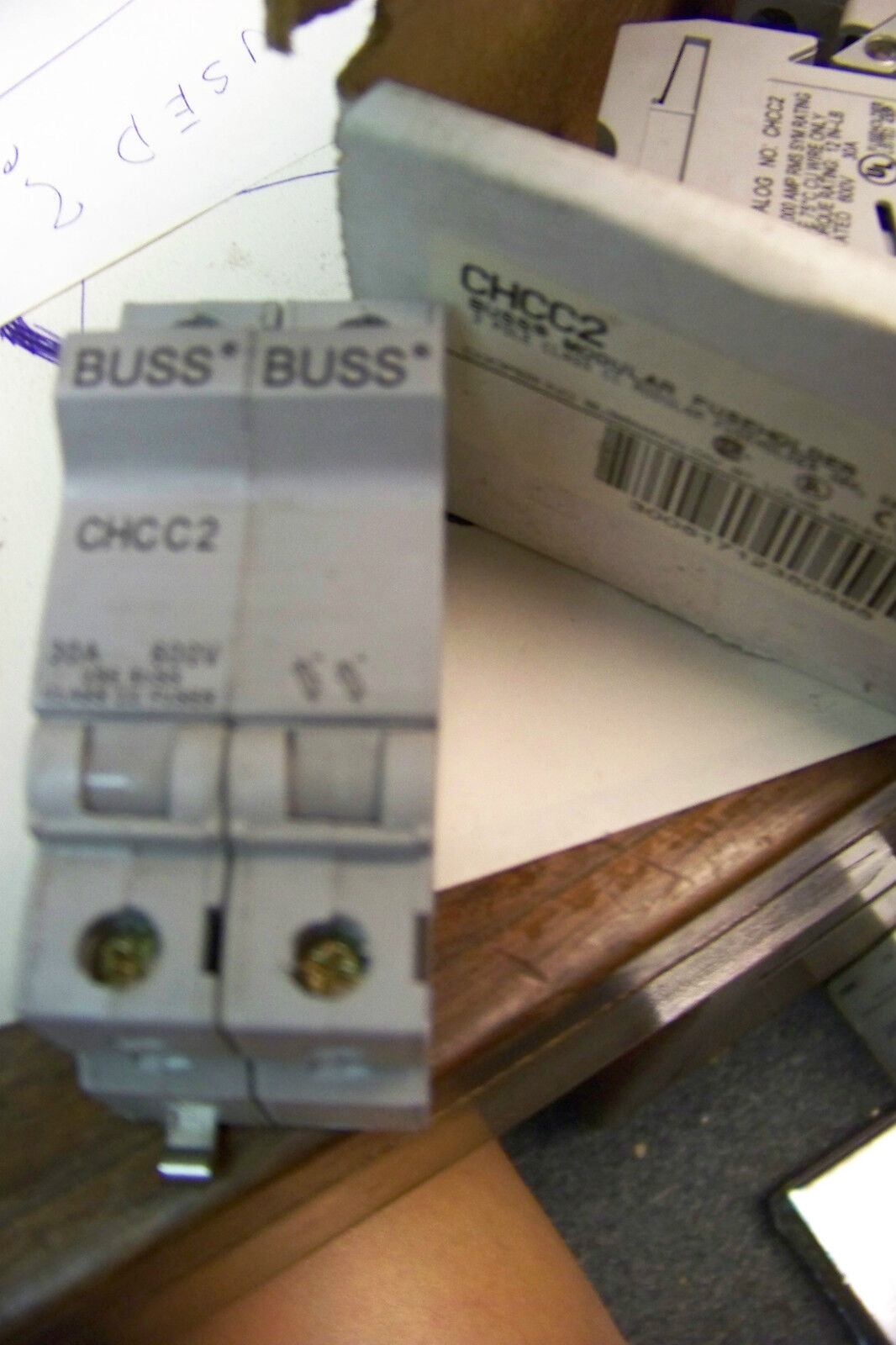 New Cooper Bussmann Chcc2 Fuse Block 2 Pole 30 Amp 2299 Picclick Buss Box 1 Of 1only Available