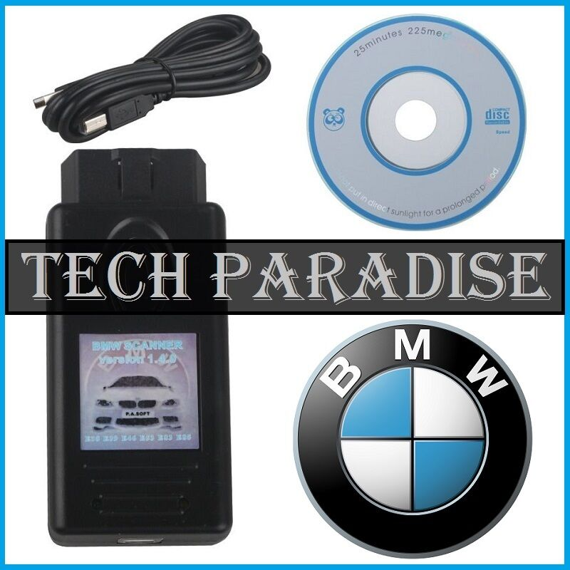 interface valise diagnostic scanner v1 4 bmw k dcan obdii usb unlock version cd eur 23 35. Black Bedroom Furniture Sets. Home Design Ideas