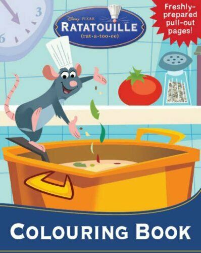 Disney Colouring Ratatouille Paperback Book The Cheap Fast Free Post 1 Of 1Only 2 Available