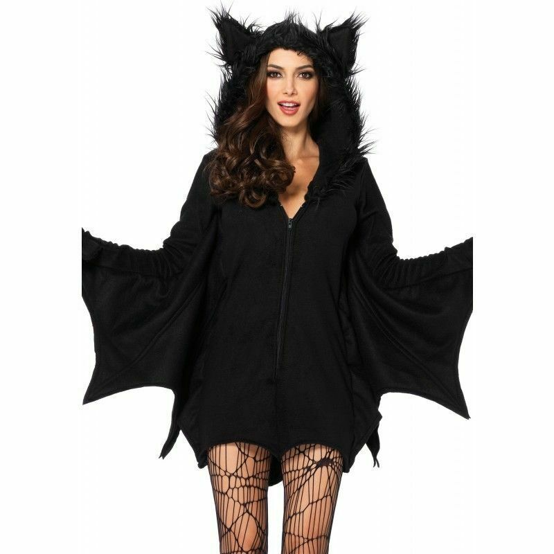 leg avenue cozy bat wings plush furry goth adult womens halloween costume 85311 1 of 4free shipping see more