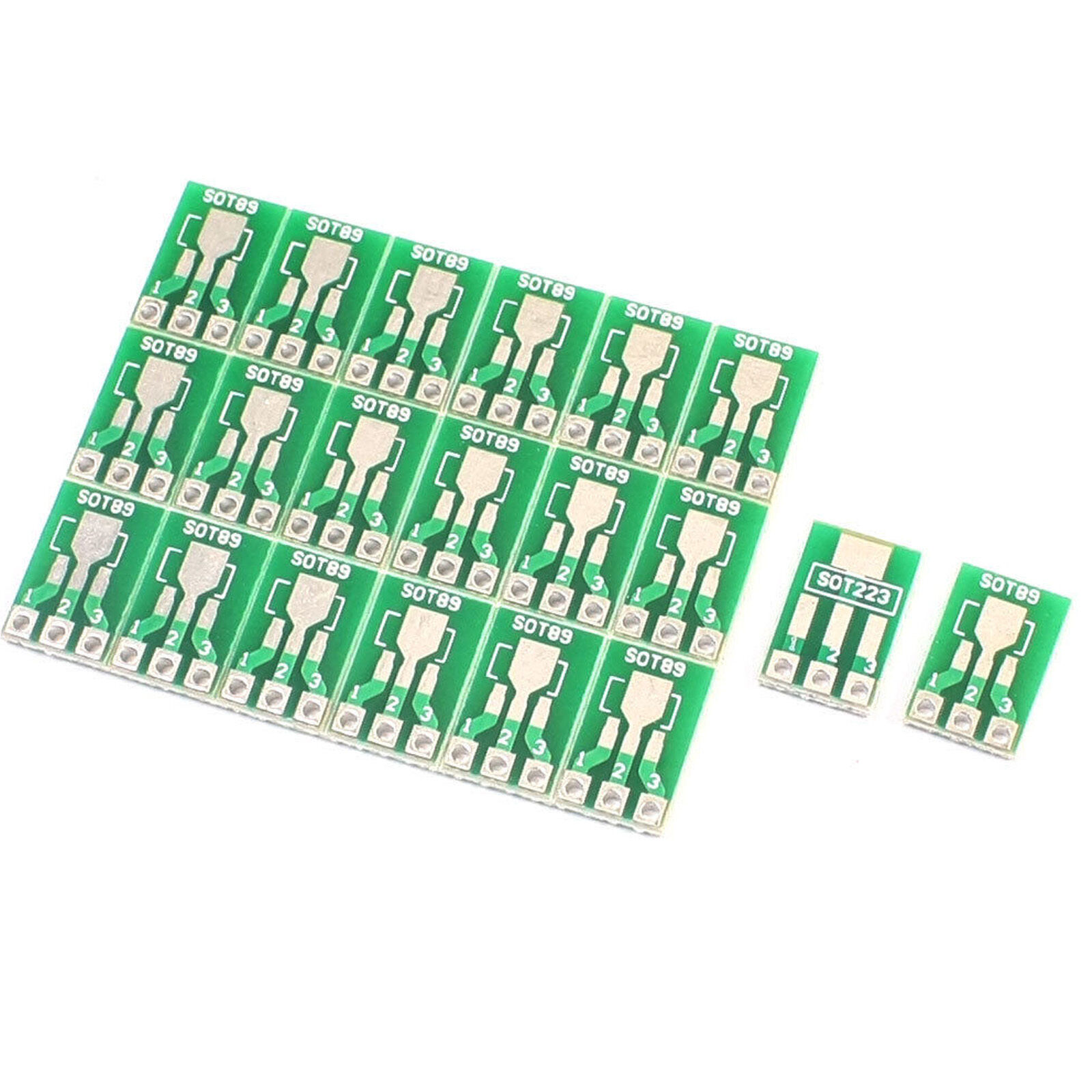 20pcs Dual Side Smd Smt Sot223 Sot89 To Dip Sip3 Adapter Pcb Board Diy Sot 23 1 Of 1free Shipping