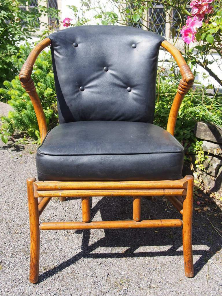 Beautiful Very Rare Antique Early W Lusty & Sons Ltd Bentwood Chair Sprung Seat
