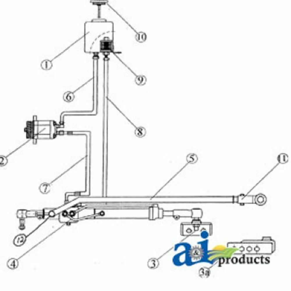 Ford 4600 Steering Parts Diagram Electrical Wiring Diagrams Fuse Box A Fd100 Tractor Power Conv Kit 4000 584 38 1992 F 150 Column