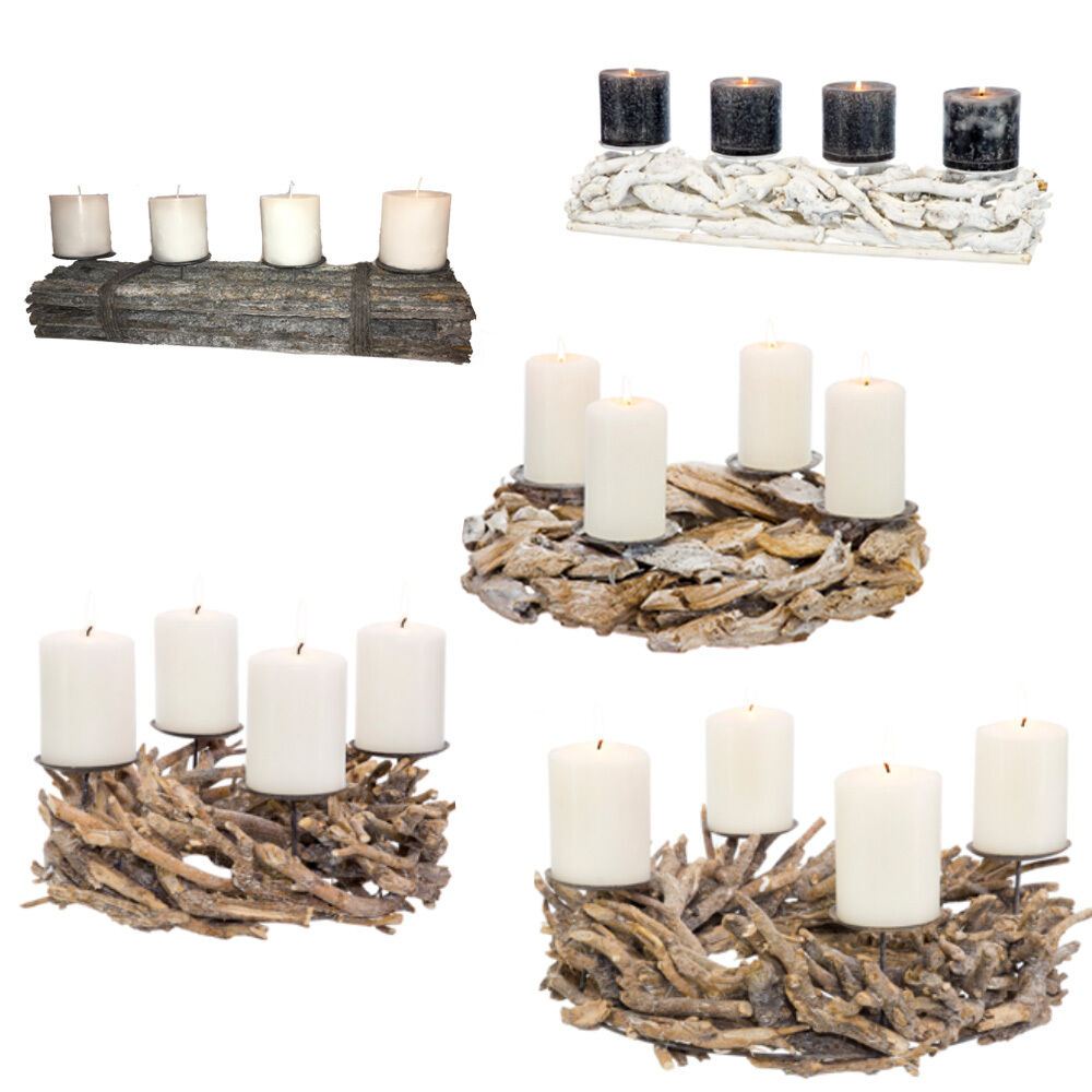 adventskranz aus holz rohling naturholz weihnachtsdeko wurzelkranz holzkranz eur 21 99. Black Bedroom Furniture Sets. Home Design Ideas